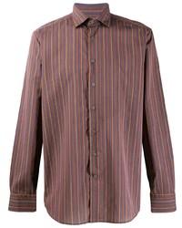 Etro Striped Button Shirt