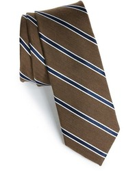 1901 Smoak Stripe Woven Silk Cotton Tie