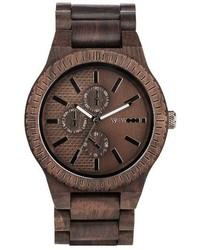 Kos multifunctional wood bracelet watch 46mm medium 3991722