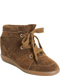Brown wedge sneakers original 1593069
