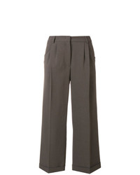 Fabiana Filippi Cropped Wide Leg Trousers