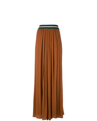 Roberto Collina Flare Pleated Trousers