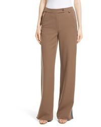 Side vent wide leg pants medium 5255957