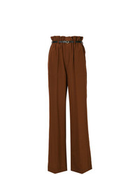 Chloé Wide Leg High Waisted Trousers
