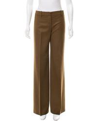 Wide leg wool pants medium 3644348
