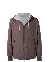 Ermenegildo Zegna Hooded Lightweight Jacket