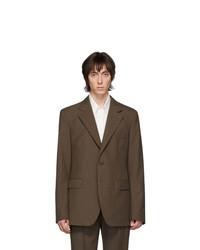 Lemaire Brown Wool Blazer