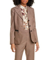 Judith & Charles Matera Wool Suit Jacket