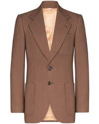 Gucci Single Breasted Wool Blazer