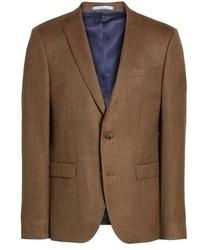 Trim fit wool blazer medium 5360306