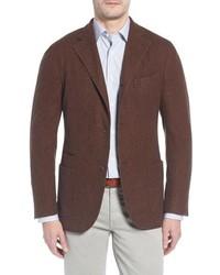 Boglioli Trim Fit Wool Blazer