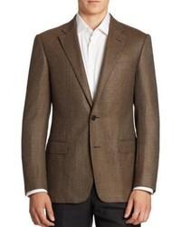 Virgin wool cashmere sportcoat medium 1154056
