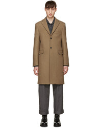 Acne Studios Tan Wool Garrett Coat