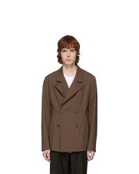 Maison Margiela Brown Wool Blazer