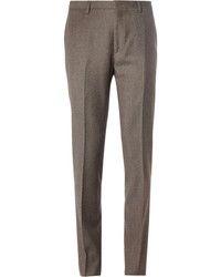 Brown Wool Dress Pants