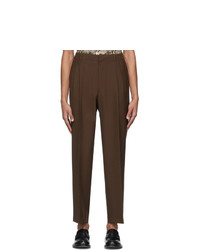 Cmmn Swdn Brown Jez Trousers