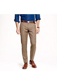 Slim suit pant in glen plaid english wool medium 26555