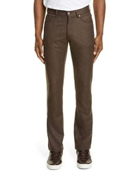 Ermenegildo Zegna Stretch Wool Flannel Pants