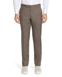 Ermenegildo Zegna Trofeo Solid Wool Blend Trousers