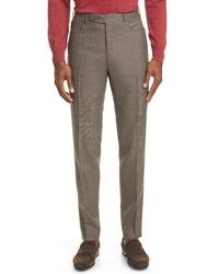 Canali Wool Travel Dress Pants