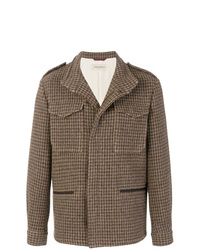 Brown Wool Field Jacket
