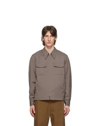 Lemaire Taupe Light Blouson Jacket