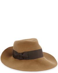 Brown Wool Hat