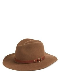 Campus wool fedora brown medium 3723126