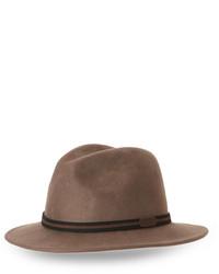 Scala Crushable Wool Felt Hat