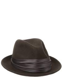 Stacy Adams Crushable Wool Felt Snap Brim Fedora Hat 357650df61f