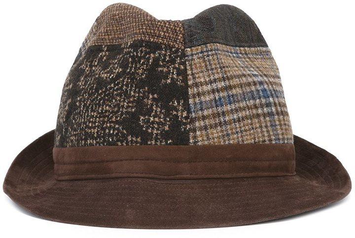 Etro Patchwork Design Hat