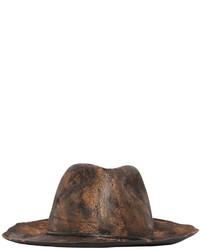 Hand painted wool felt hat medium 842775