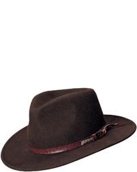 jcpenney Indiana Jones Indiana Jones Wool Felt Outback Brim Hat