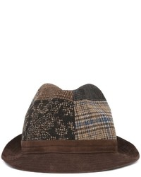 Etro Patchwork Design Hat