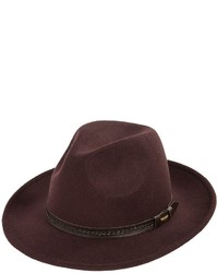 Weatherproof Safari Wide Brim Felt Hat