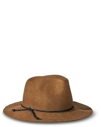 Mossimo Supply Co Merona Solid Fedora Hat Brown