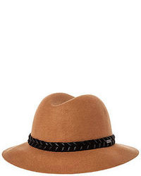 RVCA The Rosy Fruits Fedora In Tan