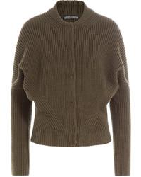 Ribbed wool jacket medium 725164