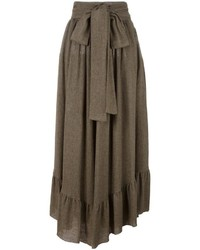 See by Chloe See By Chlo Ruffle Hem Maxi Skirt