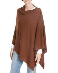 Eileen Fisher Fine Merino Wool Links Poncho