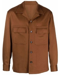 Z Zegna Button Up Cashmere Shirt