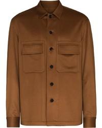 Ermenegildo Zegna Cashmere Buttoned Overshirt