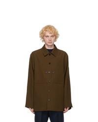 Jil Sander Khaki Wool Jacket