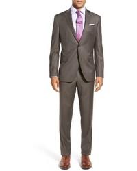 London jay trim fit solid wool suit medium 750056