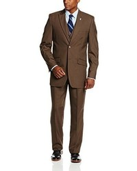 Stacy Adams Big Tall Mart Vested Three Piece Suit