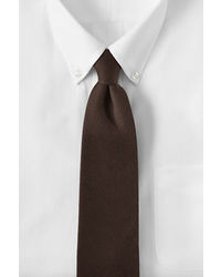 Lands' End Long Silk Wool Necktie