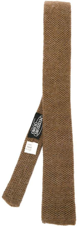 Missoni Vintage Knitted Tie