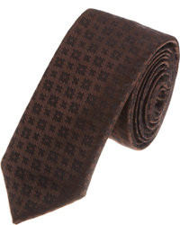 John Varvatos Textured Medallion Tie