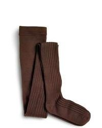 Sperry topsider shoes ribbed tights dark brown medium 98174
