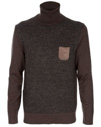 Paolo Pecora Contrasting Knitted Jumper